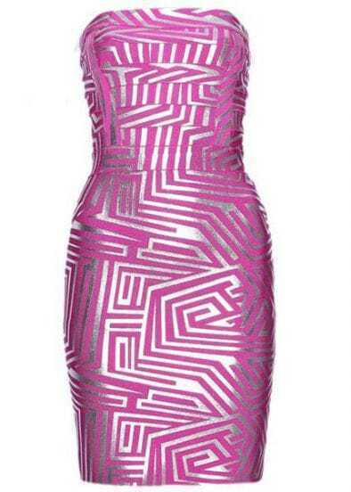 Alexa Jacquard Bandage Dress H158F1