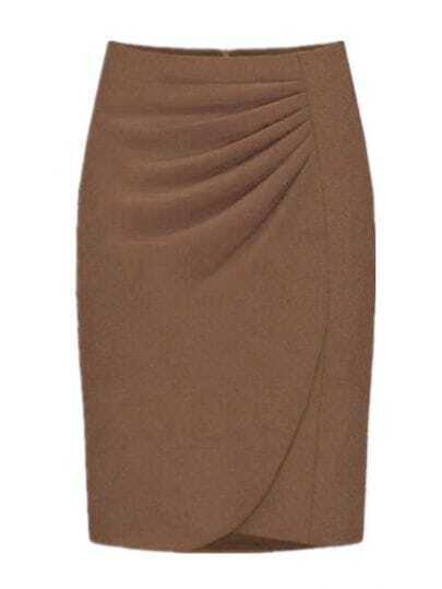 Camel Fashion Professional Skirt