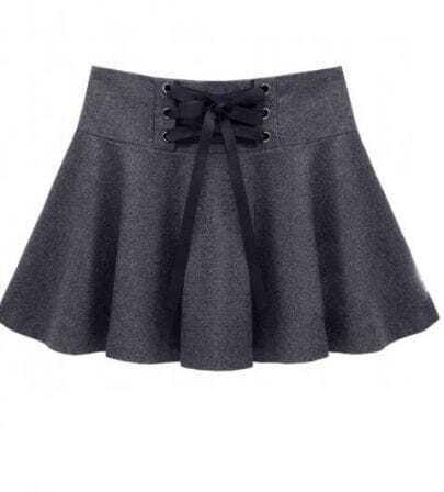 Grey Star Stalker Sheath Woolen Skirt