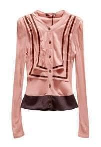 Vintage Tie Sweater Pink