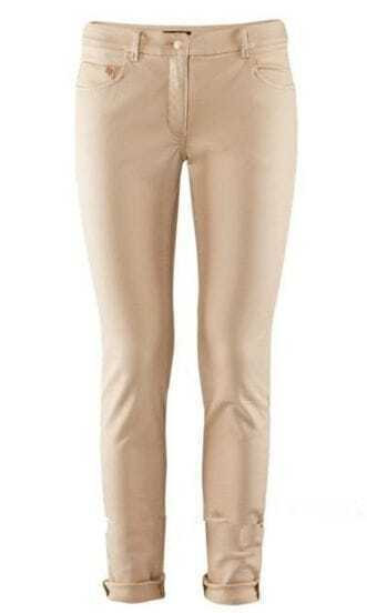 Ivory Skinny Jeans