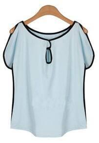 All-match Small Collar Short-sleeved T-shirt