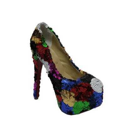 Daffodile 160mm Glitter Colorful Pump