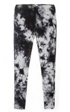 Black And White Cotton Bottoming Pants