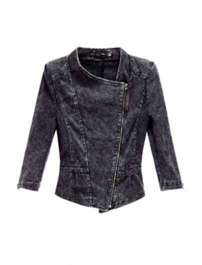 Grey Loco Denim Outerwear