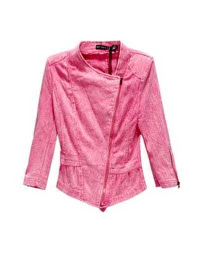 Pink Loco Denim Outerwear