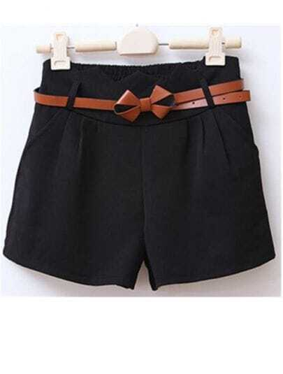Black Modern Loose Joker Shorts Pant