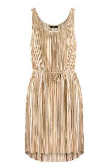 Pleated Sashes Spaghetti Strap Mermaid Dress