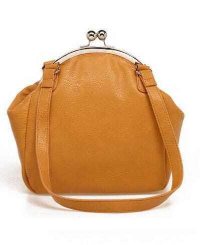 Vintage Camel Clasp Bag