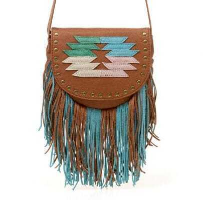 Bohemia Tassel Cross Body Bag