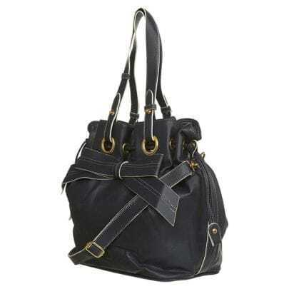 Black Large non PU Shoulder Bag