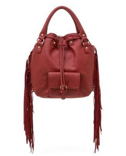 Red Vintage 3way Shoulder Bag