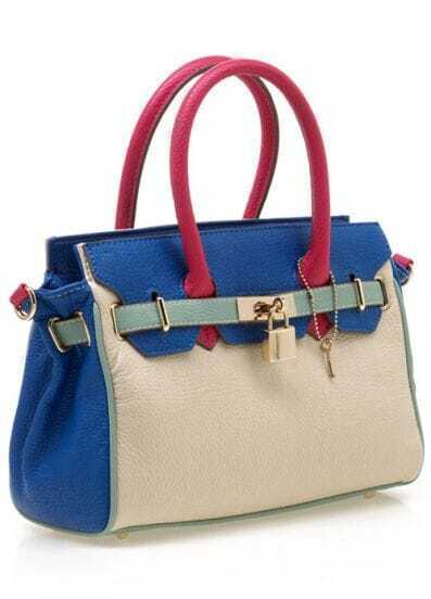 White Blue Birkin Bag