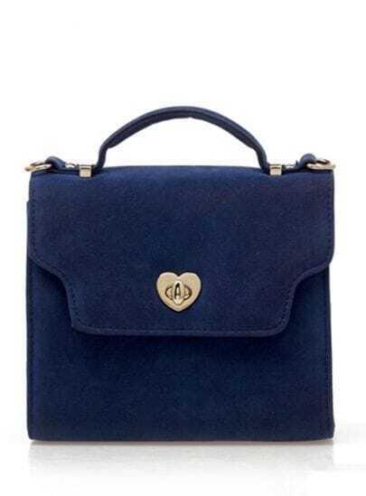 Blue Vintage Small Satchel Bag