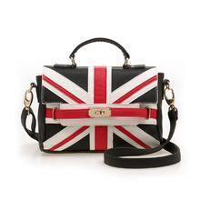 Union Jack HandBag with Strap