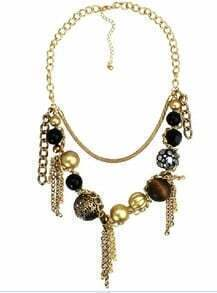 Mulitcolor Beads Long Necklace