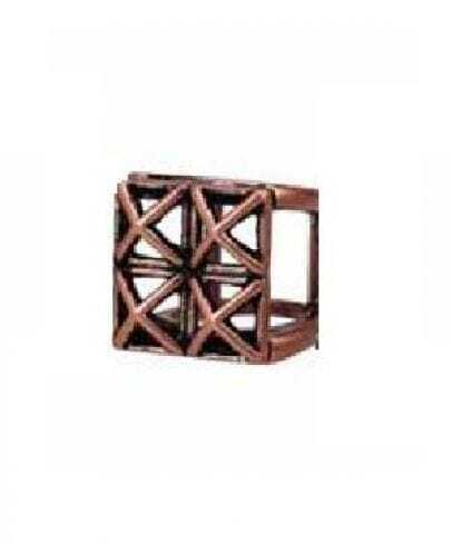 Red Copper Square Ring