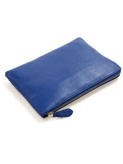 Blue Vintage Clutch Bag