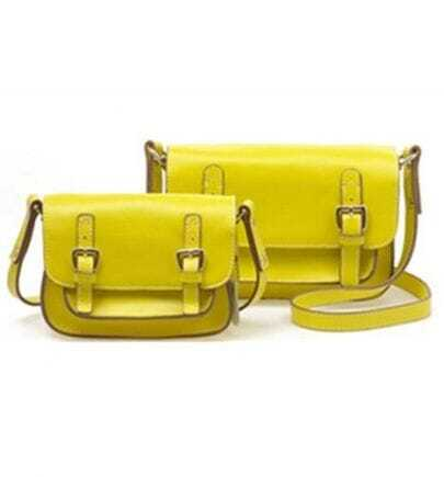 Lemon Yellow Candy Color Cambridge Satchel