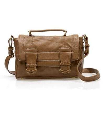 Brown Vintage Satchel Bag