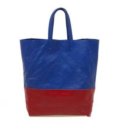 Blue and Red Brief Shopping Bag