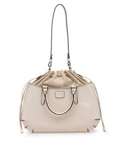 Beige Vintage Locoste Handbag