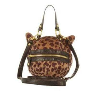 Leopard Cat Ear Shoulder Bag