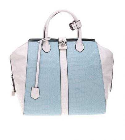 Cayman Stripe Blue Handbag