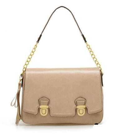 Sand Gold Cow Leather Vintage Handbag