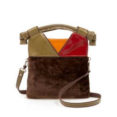Honey Brown Vintage Shoulder Bag