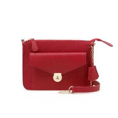Vintage Wine-red Handbag