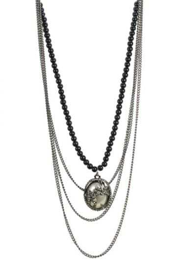 Bohemia Vintage Beading Pendant Necklace