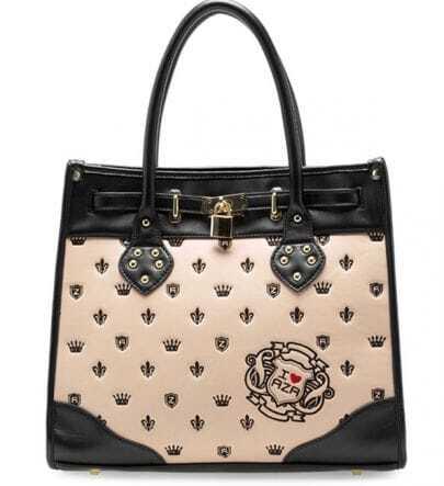 Pink Vintage Smiling Tote Bag