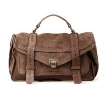 Matting Leather Coffee Vintage Cross Body Bag