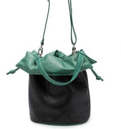 Green Lizard Vintage Cross Body Bag