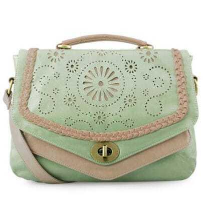 Green Vintage Shoulder Bag