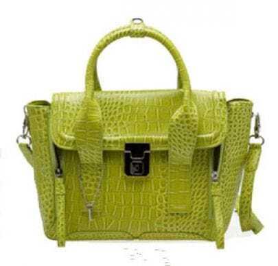 Green Modern Tote Bag