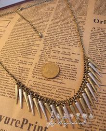 Rivet Chic Double Color Necklace