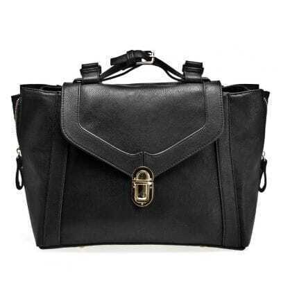 Black Vintage Shoulder Bag