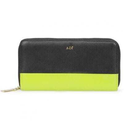 Green Patchwork Shipleather Clutches