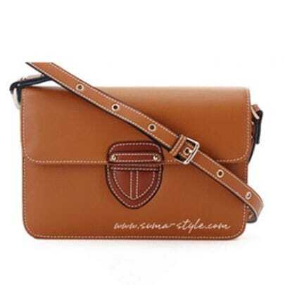 Brown Leather Cross Bady Bag