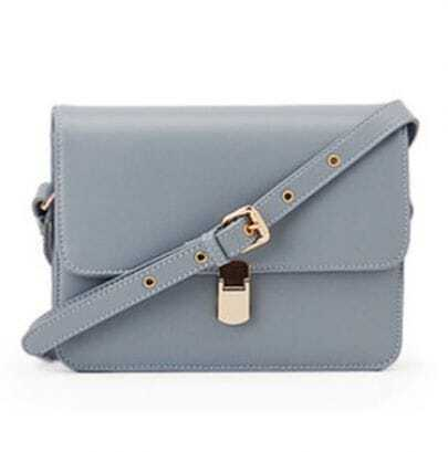 Grey Vintage Cross Body Bag