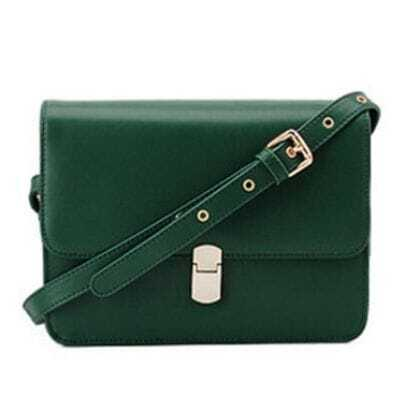 Green Vintage Cross Body Bag