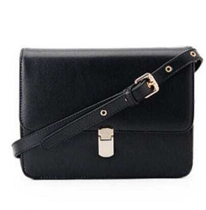 Black Vintage Cross Body Bag
