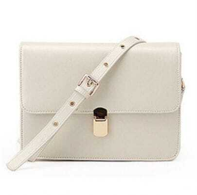 White Vintage Cross Body Bag