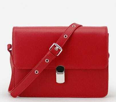 Red Vintage Cross Body Bag