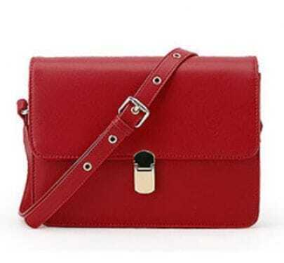 Dark-red Vintage Cross Body Bag