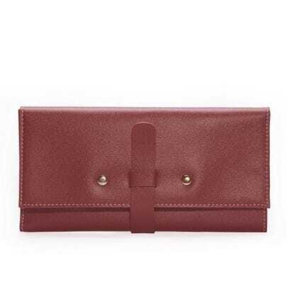 Vintage Red Leather Clutches