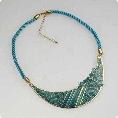 Colour Ceramic Glaze Necklace
