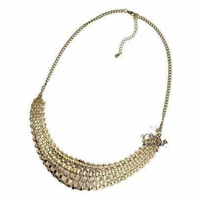Gold Plait Gorgeous Necklace